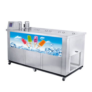 New Design Vertical Type 10 Moulds Popsicle Machine ice cream machines