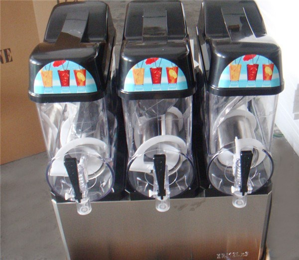 CE 3 Bowl Flavors Frozen Drink Slush Puppy Machine