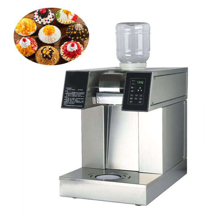 Hot sale snow white ice machine snowflake ice cream machine